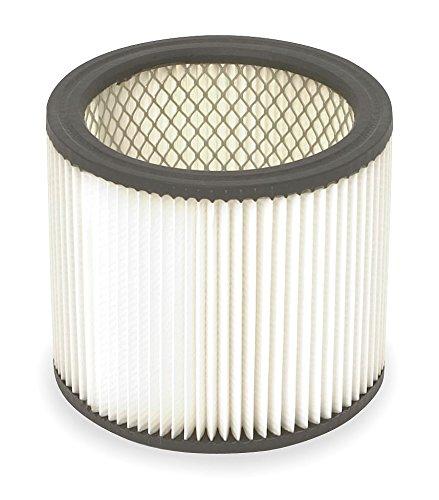 Dayton Filter, Dry, Cartridge Filter, Paper, 6-1/2