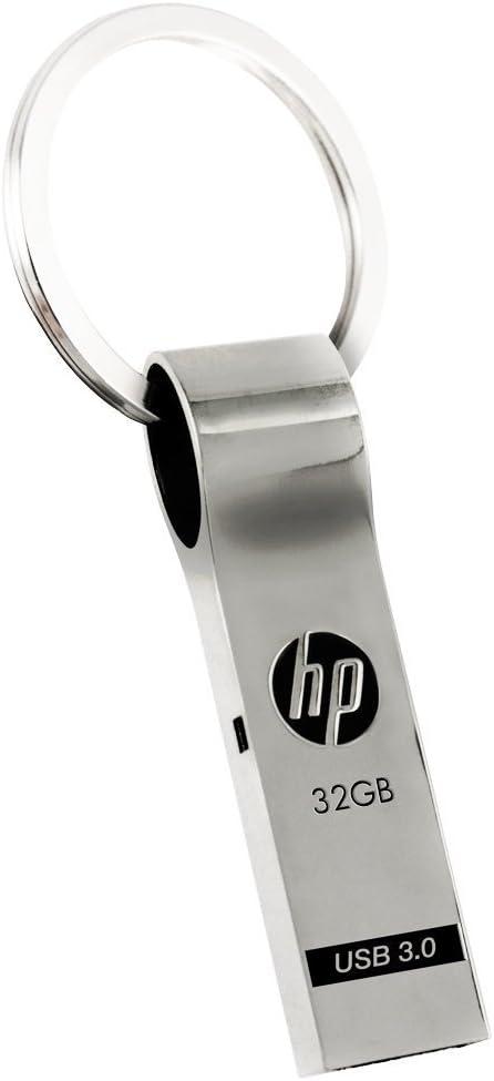 HP 32GB USB 3.0 Metal Key Ring Design Flash Drive