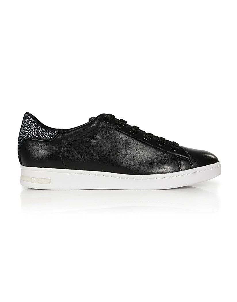 Black Geox Women s Jaysen Trainers - Black - Size   4  Amazon.co.uk  Shoes    Bags 1b5c2420777