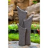 Jeco Gray Sandstone Indoor Outdoor Water Fountain For Sale