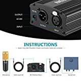 Neewer 1-Channel 48V Phantom Power Supply with