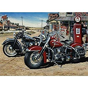 Cobblehill 80062 1000 Pc Two For The Road Puzzle Vari