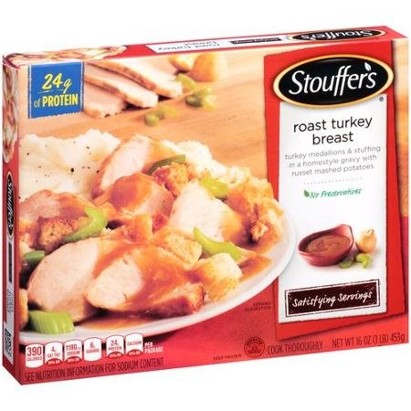 Stouffer's, Roast Turkey Breast, 16 Oz. (12 Count) by Stouffer's