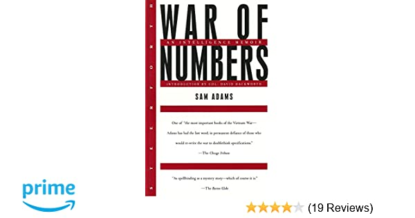War of Numbers: An Intelligence Memoir