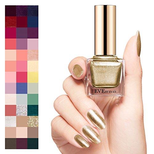 nail polish golden color - 2