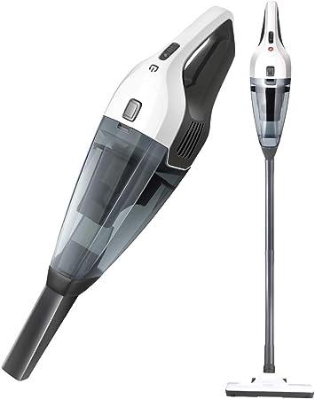 A Vacuum cleaner Aspirador inalámbrico de Mojado y seco de pie, Aspirador Potente de Doble propósito para Uso doméstico, Potente de Mano pequeña, succión Potente sin enredos: Amazon.es: Hogar