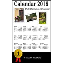 Calendar 2016: Daily Planner and Organizer (US Calendar)