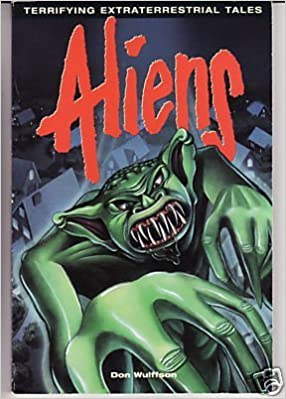 Image result for aliens extraterrestrial tale of terror book cover