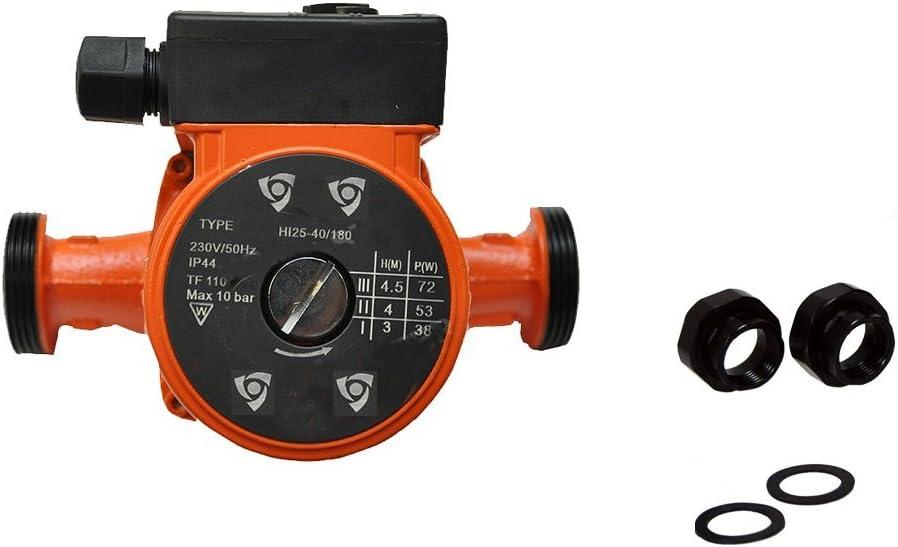 Bomba de recirculación de calefacción bomba 25-40 180 230 V lbo con bombas de tornillo