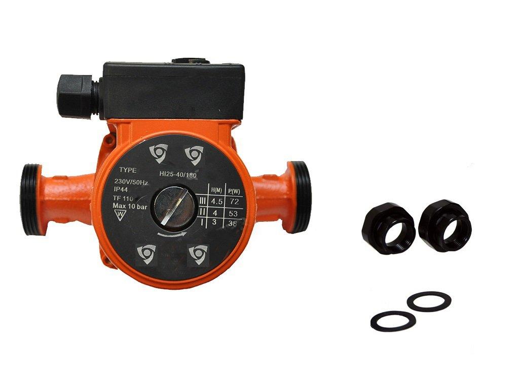 Bomba de recirculació n de calefacció n bomba 25-60 180 230 V lbo con rosca de bombas de agua IBO