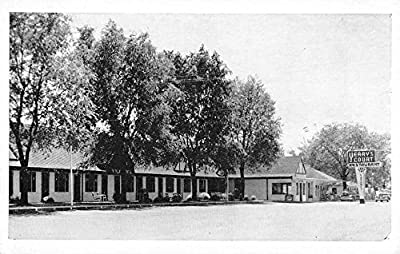Corbin Kentucky Yearys Tourist Court Street View Antique Postcard K43311