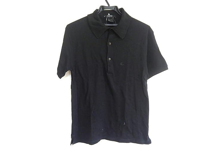 the latest c7626 c9a4d Amazon | (グッチ) GUCCI ポロシャツ 半袖ポロシャツ メンズ 黒 ...