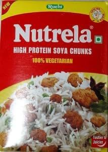 Nutrela High Protein Soya Chunks by Ruchi