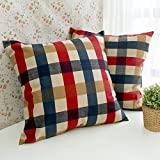 Cotton Cushion Woven Printed Square Decorative Pillows Massager Home Large Throw Pillow Cover Floor
