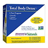 Cheap Advanced Naturals Total Body Detox, 3-Part Kit, 14 Day Program