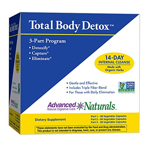Advanced Naturals Total Body Detox, 3-Part Kit, 14 Day (4 Total Cleanse Part)