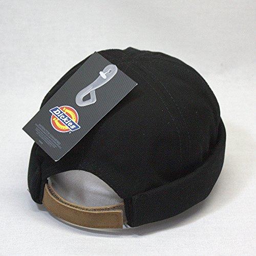 b6c1e02f Dickies Canvas Black Docker Beanie Adjustable Cap: Amazon.ca: Clothing &  Accessories