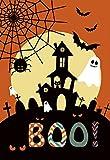 Morigins Spooky Manor Decorative Halloween Fall Double Sided House Flag 28'x40'