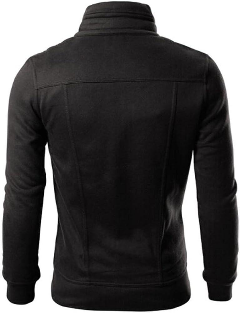 Fashion Mens Slim Designed Lapel Cardigan Coat Jacket Tops