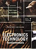 img - for ELECTRONICS TECH.FUND.:CONV... book / textbook / text book