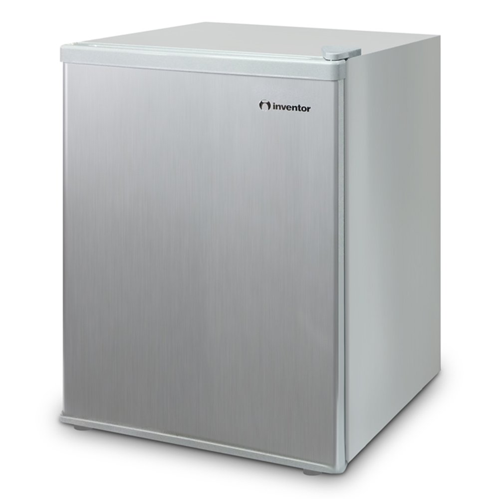 New compact mini 67l fridge silver small drinks cooling - How to make a small fridge ...