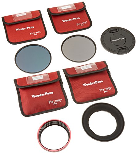 WonderPana 145 Essentials ND Kit - Core Filter Holder with ND16 (4-Stop) and ND32 (5-Stop) Filters for Nikon 14-24mm AF-S Zoom Nikkor f/2.8G ED AF Lens