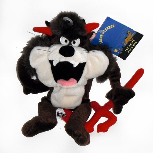 Taz Tasmanian Devil Halloween - Warner Bros Bean Bag Plush ()
