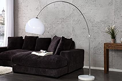Bogenlampe Weiss Mit Dimmer ~ Stehleuchte bogenlampe arcus weiss cm dimmbar amazon