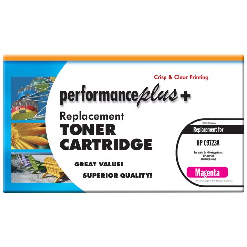C9723a Magenta Remanufactured Toner (Performance Plus Remanufactured C9723A Magenta Laser Toner Cartridge, Qualtity, Clear, Crisp Printing)