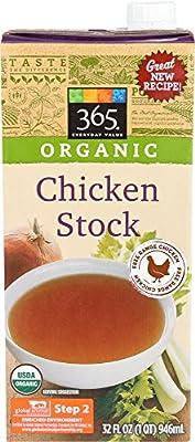 365 Everyday Value Organic Chicken Stock, 32 oz