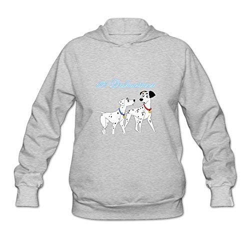 Price comparison product image 101 Dalmatians Very 100% Cotton Ash Long Sleeve Sweatshirts For Women Size S