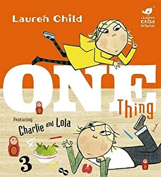 book cover of One Thing