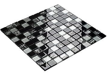Luxus Glas Mosaik Schwarz Tiger Fliesen Badezimmer Küche Qualität - Baumarkt fliesen qualität
