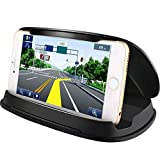 Cell Phone Holder for Car, Car Phone Mount Holder Cradle Compatible for iPhone Xs XS Max X 8 8 Plus 7 SE 6s 6 Plus 5s 5 4s Samsung Galaxy S6 S5 Note LG Sony Nokia Google Nexus Motorola and GPS