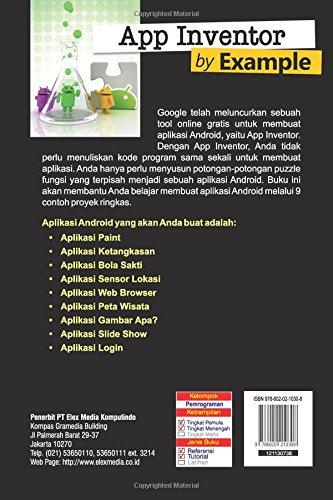 App Inventor By Example Indonesian Edition Wahana Komputer