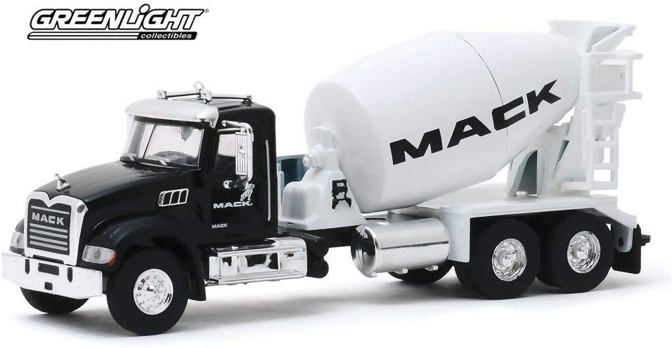 Mack Fleet Management Services Show Truck 2019 Mack Granite Cement Mixer Greenlight 45090//48-1//64 Scale Diecast Model Toy Car