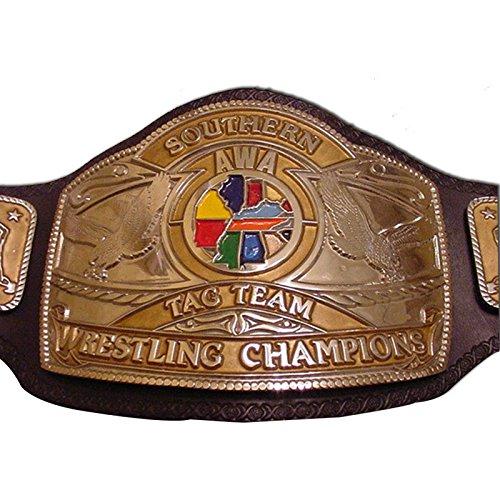 Haiosports NWA Central States Tag Team Replica Belt (Nwa Belt Replica)