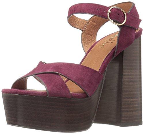 Donne London Shellys Lauren 2 Delle Bordeaux Sandalo AqqEw8Bx