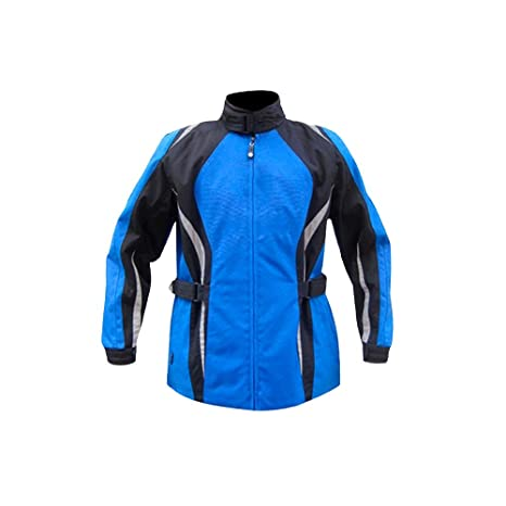 Amazon.com: jxhracing rb-j03003 Chaqueta de moto, S, Azul ...