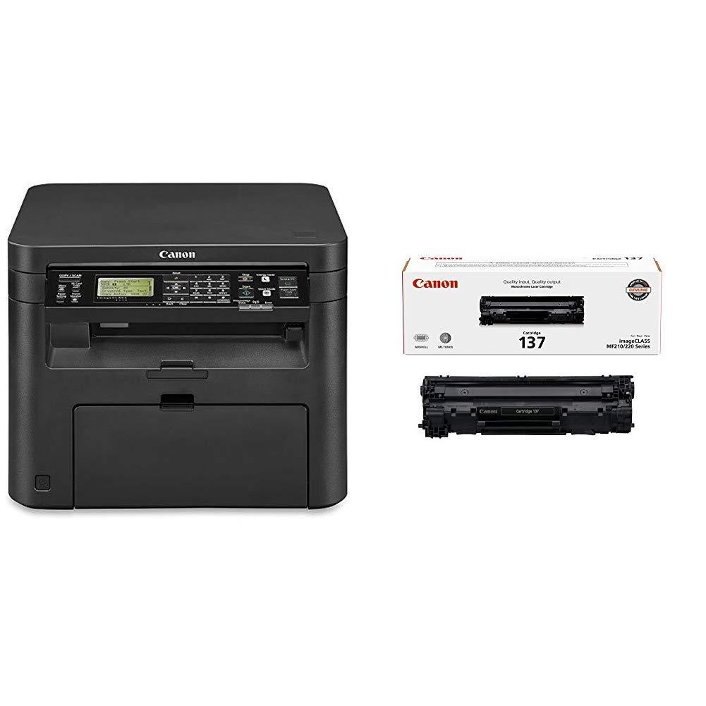 Canon Image Class D570 Monochrome Laser Printer with Scanner & Copier with  Canon Original 137 Toner Cartridge - Black