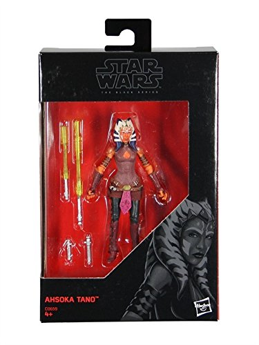 (Star Wars, 2016 The Black Series, Ahsoka Tano Exclusive Action Figure, 3.75 Inches)