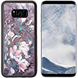 Liili Premium Samsung Galaxy S8 Plus Aluminum Backplate Bumper Snap Case IMAGE ID: 13102859 Original batik painting...