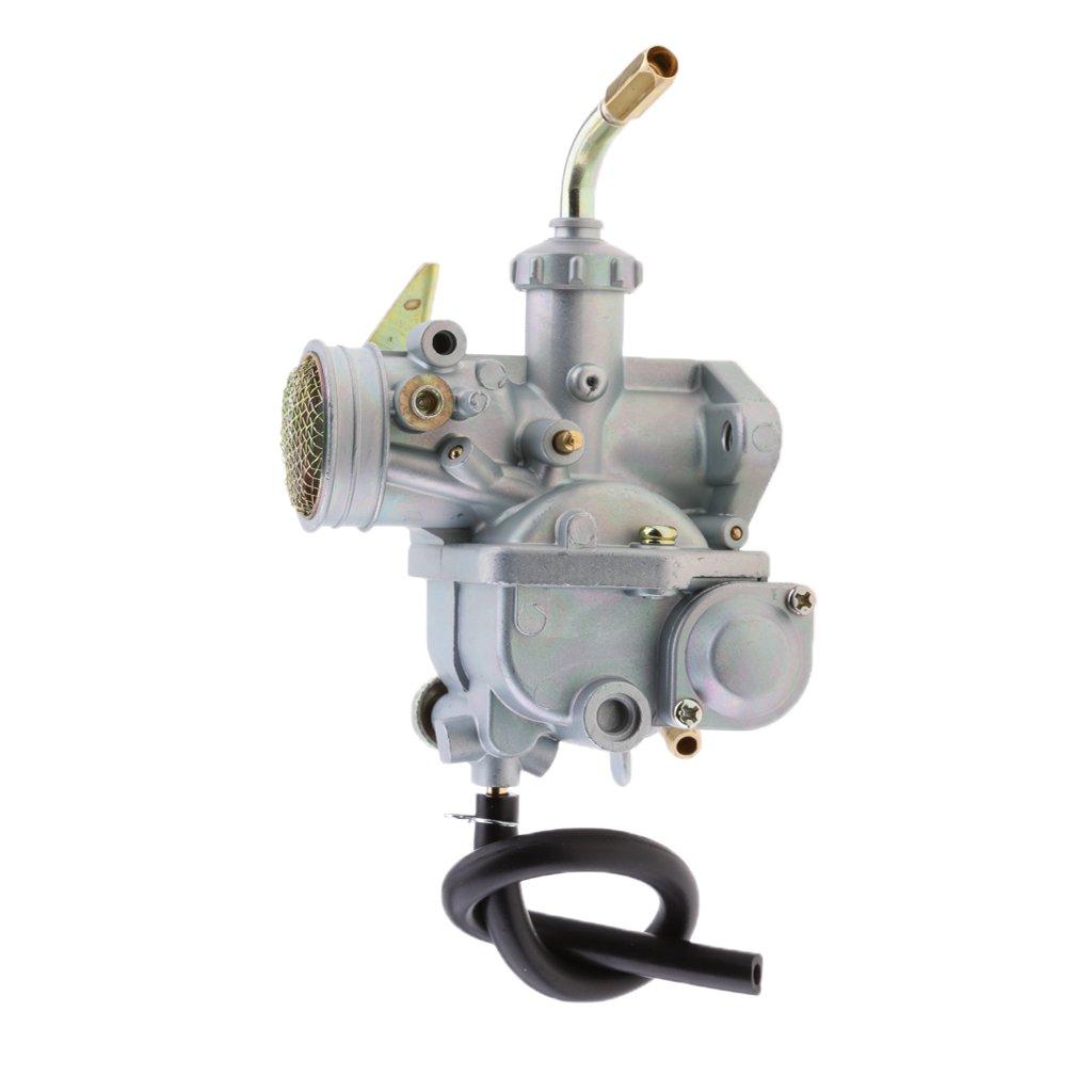 MagiDeal Carburetor for Honda CT70 CT70H CT 70 KO 1969-1977 Fuel Line+Dirt Jet Remove