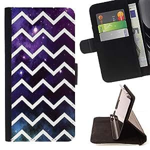 Momo Phone Case / Flip Funda de Cuero Case Cover - Universo Futurista Dios - Samsung Galaxy J3 GSM-J300
