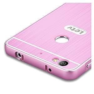 Rosa Aluminum Bumper Funda PC Back Case y Protector de Pantalla Para LeTV Le 1s X500 Vooway® MS00398