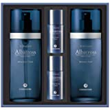 CHARMZONE Albatross Skincare for Men Aftershave Toner and Emulsion Set - Hydrating and Moisturizing Nourishing Gift Set with