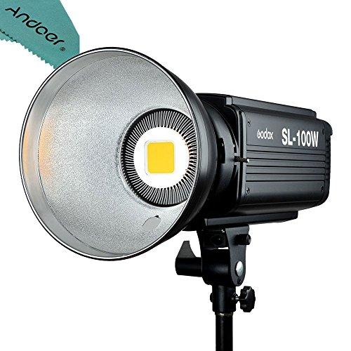 Godox SL-100W 6500LUX Studio LED Continuous Video Light Bowens Mount by Godox