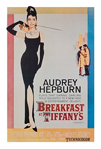Breakfast at Tiffany's, Movie Poster 24in x 36in (Breakfast Tiffanys Movie Poster)