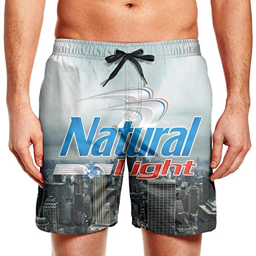truye rrelk Summer Printed Quick Dry Loose Pants Mens Swimming Trunks Shorts for Beach - Phone Desk Offshore