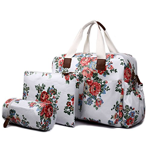Baby Bag Diaper Maternity for Mom Nappy Mother Tote Bag-Beige - 5